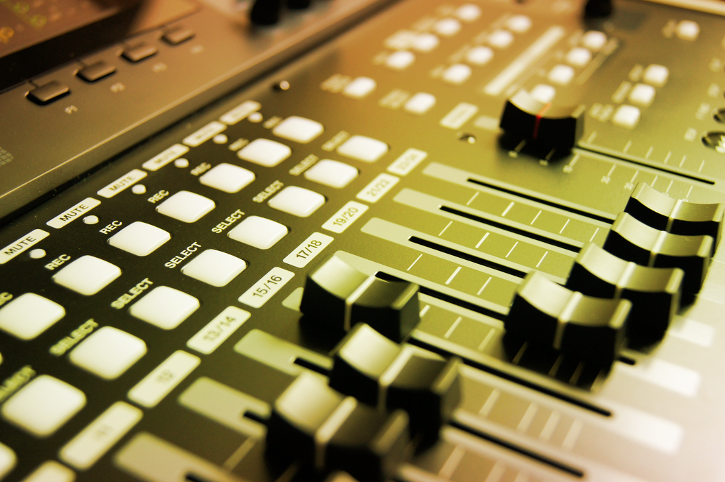 audio console image